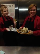 Volare Restaurant Kitchen presentation