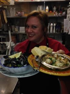 Volare Restaurant with Nicola